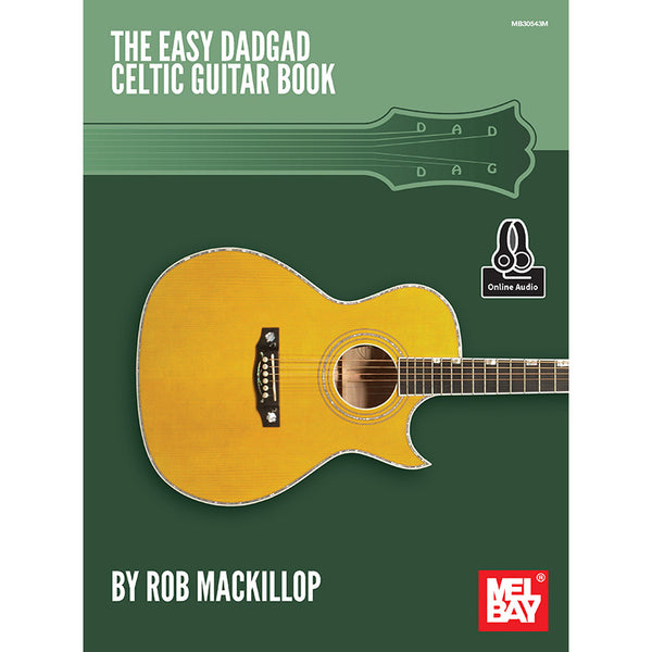 The Easy DADGAD Celtic Guitar Book