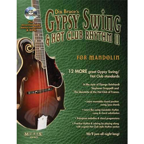 Gypsy Swing & Hot Club Rhythm II for Mandolin