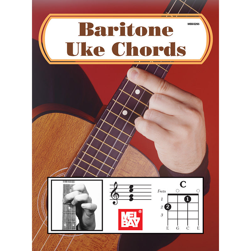 MB Baritone Ukulele Chords (in Picture and Diagram Form)