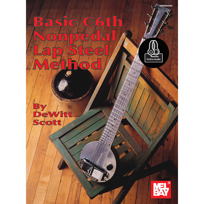 Basic C6TH Nonpedal Lap Steel Method