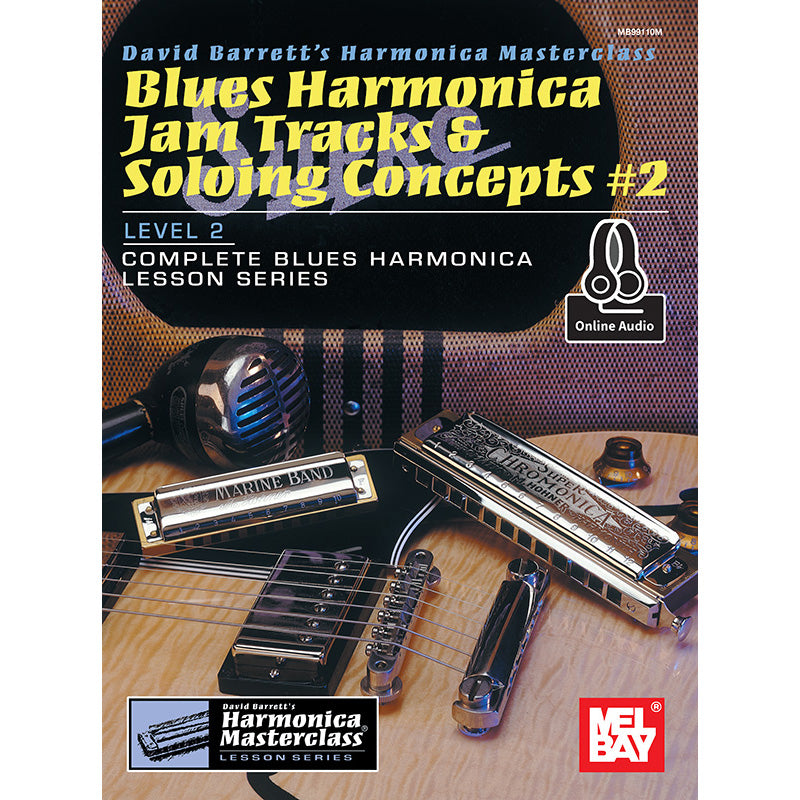 Blues Harmonica Jam Tracks & Soloing Concepts #2