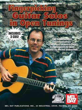 Fingerpicking Guitar Solos in Open Tunings