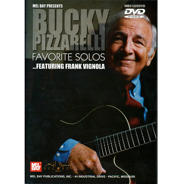 DVD - BUCKY PIZZARELLI FAVORITE SOLOS