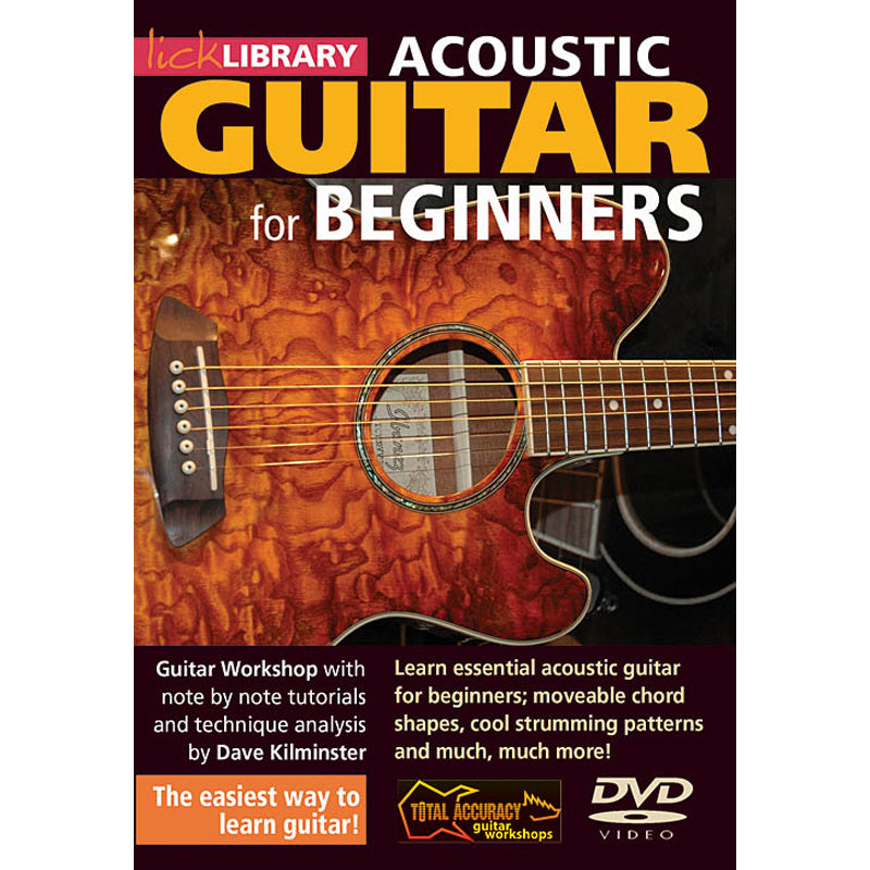 DVD - Acoustic Guitar for Beginners