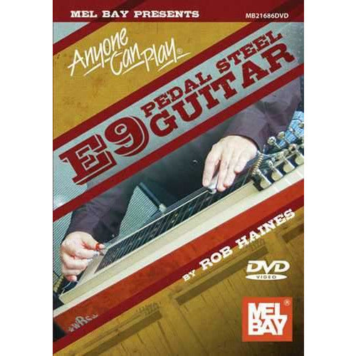 DVD - Anyone Can Play E9 Pedal Steel Guitar