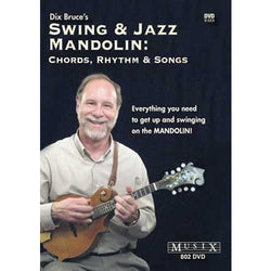DVD - Swing & Jazz Mandolin: Chords, Rhythm & Songs