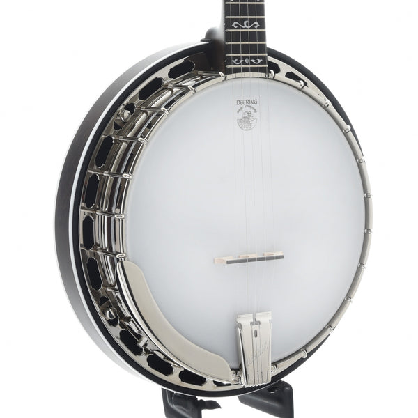 Deering Rustic Wreath Banjo & Case