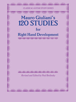Mauro Giuliani's 120 Studies for Right Hand Development