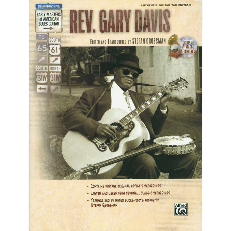 Early Masters of American Blues Guitar - Rev. Gary Davis