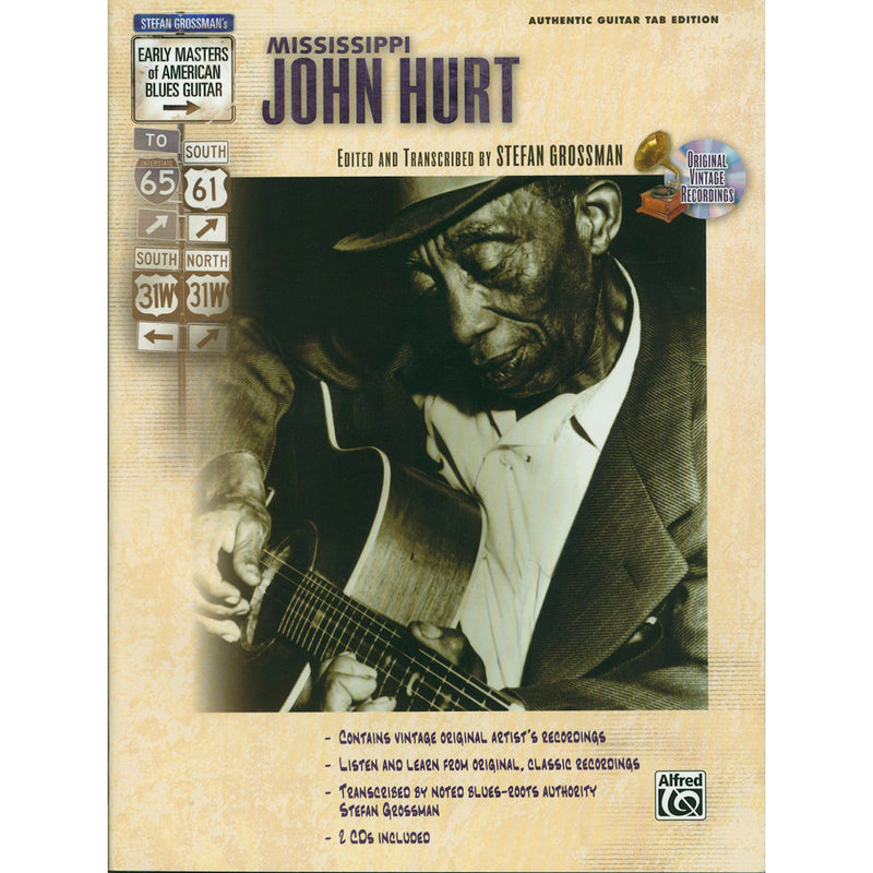Early Masters of American Blues Guitar-The Music of Mississippi John Hurt