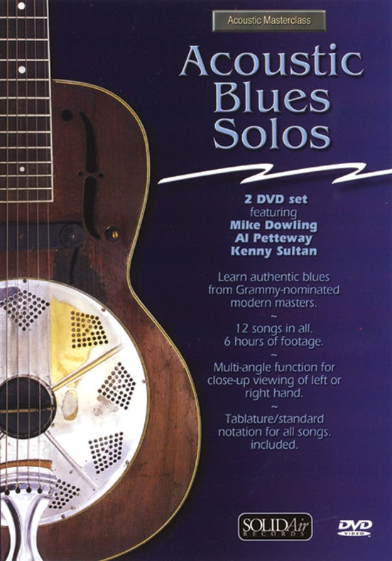 DVD - ACOUSTIC BLUES SOLOS