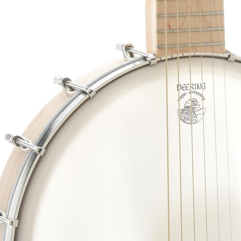 Deering Goodtime 6-String Banjo Guitar, Steel Strings, with Pickup