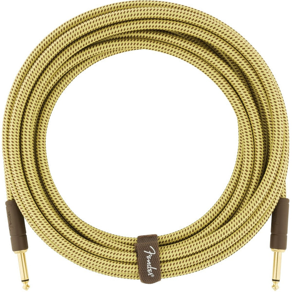 Fender Deluxe Series Instrument Cable, 18.6', Tweed