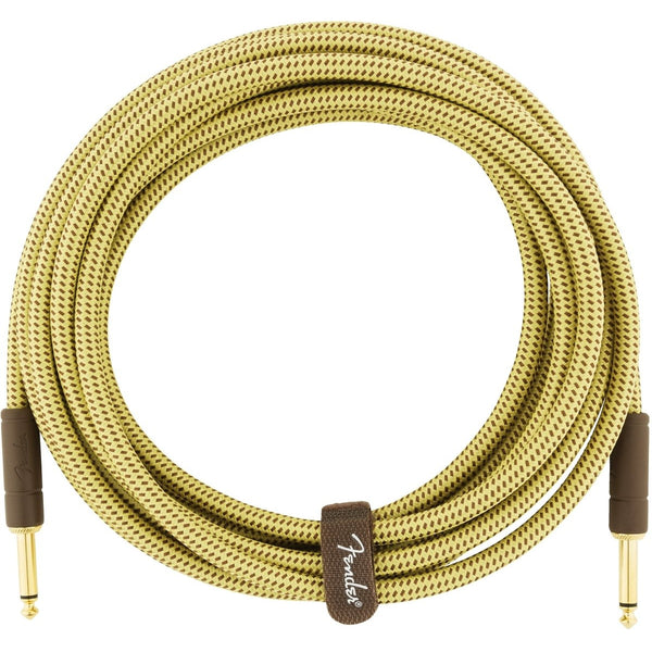 Fender Deluxe Series Instrument Cable, 15', Tweed