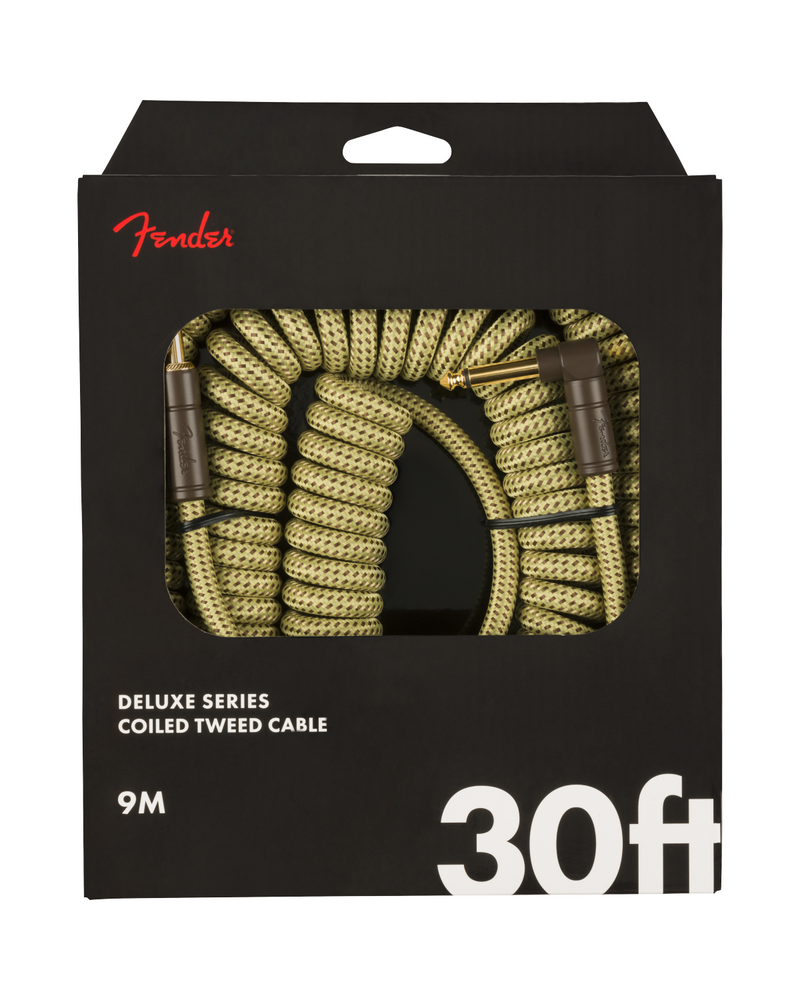Fender Deluxe Series Coil Cable, Tweed