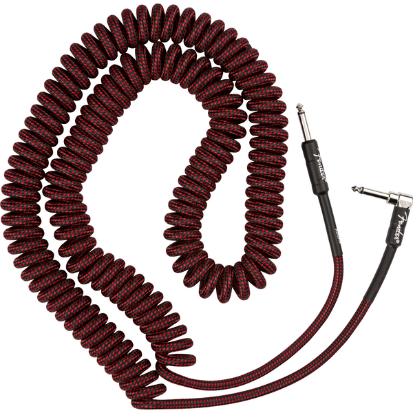 Fender Professional Series Coil Cable, Red Tweed