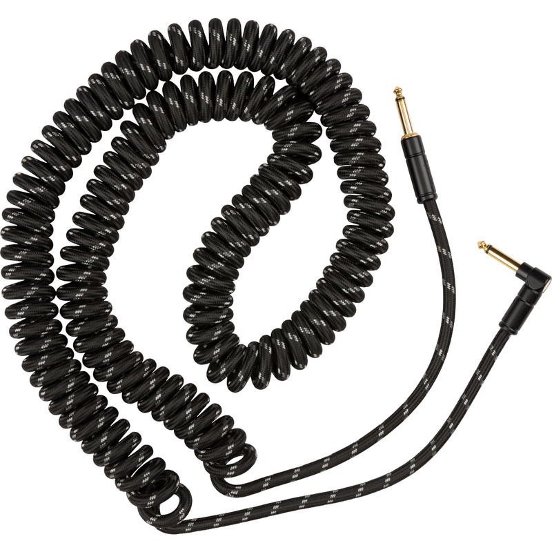 Fender Deluxe Series Coil Cable, Black Tweed