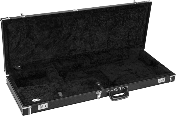 Fender Pro Series Instrument Hardshell Case, Jazzmaster/Jaguar Black