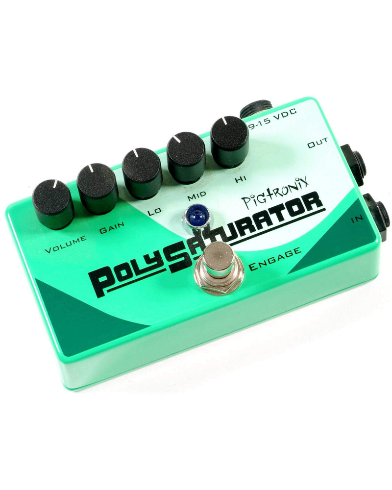Pigtronix PolySaturator Distortion/EQ Pedal