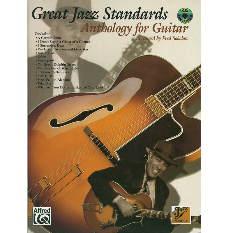 GREAT JAZZ STANDARDS ANTHOLOGY FOR GUITAR