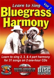 Learn to Sing Bluegrass Harmony, Vol. 2