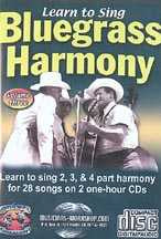Learn to Sing Bluegrass Harmony, Vol. 3