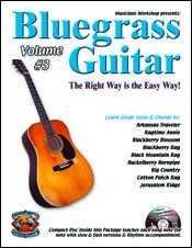 Bluegrass Guitar-The Right Way Is the Easy Way, Volume Three