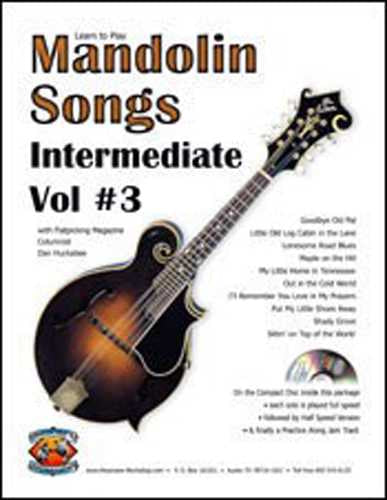 Learn to Play Mandolin Songs - Intermediate / Advanced, Vol. #3