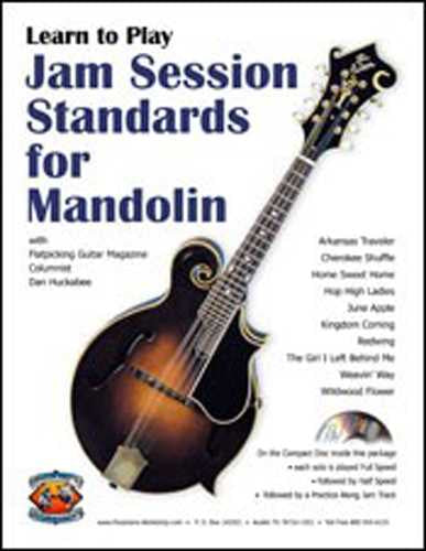 Jam Session Standards for Mandolin, Vol. 1