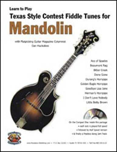 Texas Style Contest Fiddle Tunes for Mandolin Vol. 1