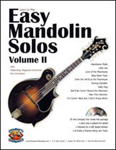 Easy Mandolin Solos, Vol. II