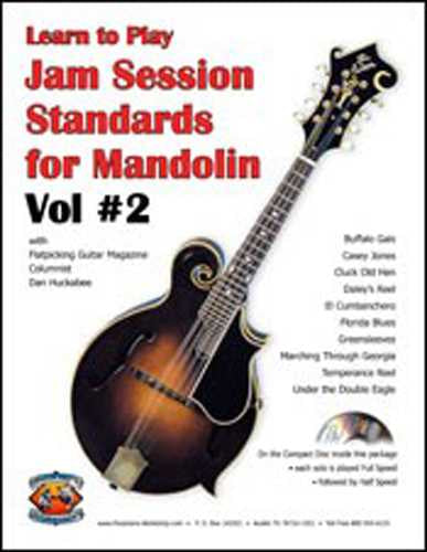 Jam Session Standards for Mandolin, Vol. 2