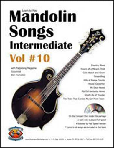 Learn to Play Mandolin Songs - Intermediate / Advanced, Vol. #10