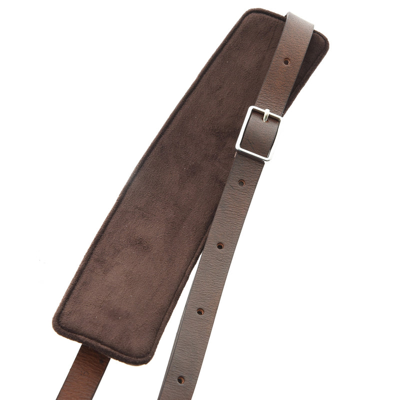 RIGHT ON! STRAPS LEATHERCRAFT SLIM GUITAR STRAP
