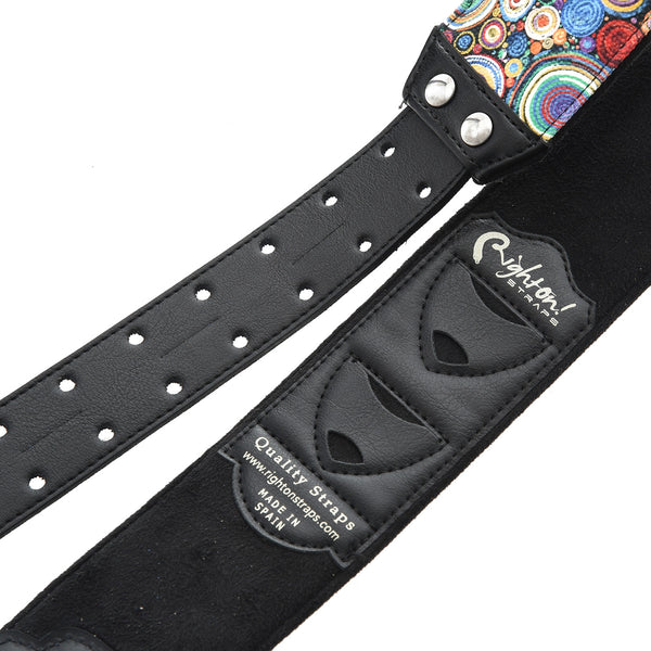 Right On! Straps Funky Bubbles Guitar Strap