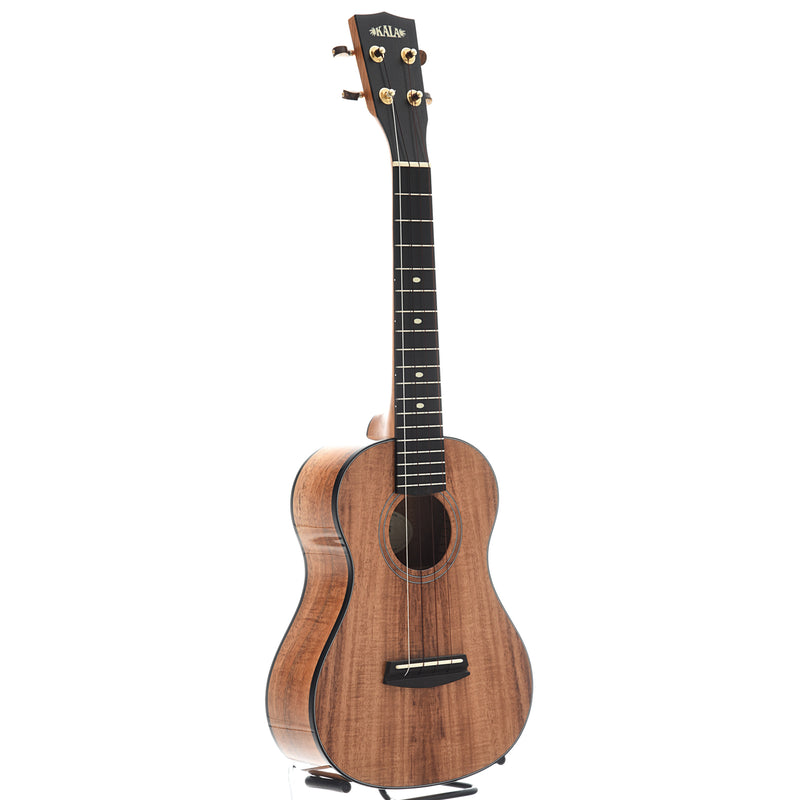 Kala Elite Koa 3 Tenor Ukulele, Gloss Finish with Case