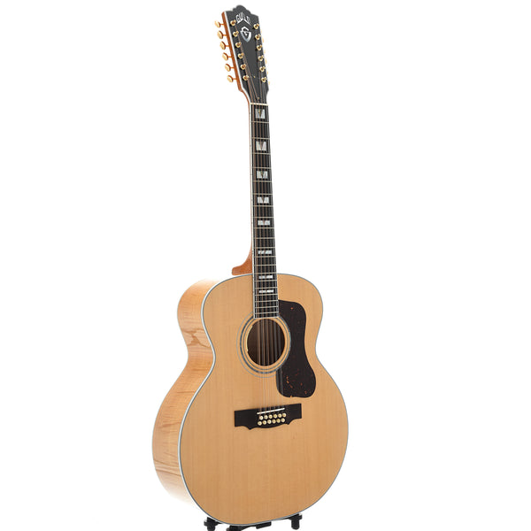 Guild USA F-512E Maple 12-String Acoustic Guitar with Case