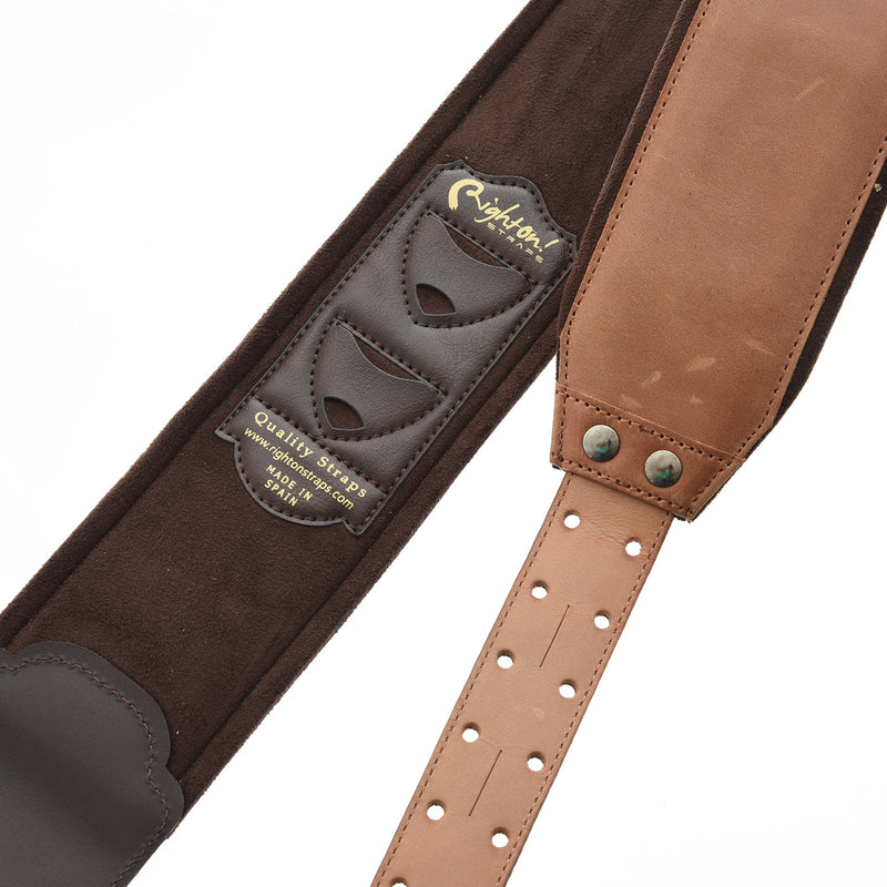 RIGHT ON! STRAPS BASSMAN SMOOTH GUITAR/BASS STRAP
