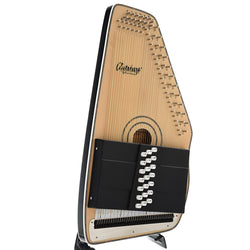 Oscar Schmidt OS120CNE 21-Chord Electric Autoharp with Fine Tuners