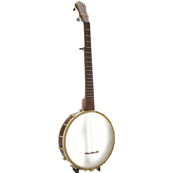 "Dogwood Banjo Co. 12"" Openback Banjo, Walnut Rim"