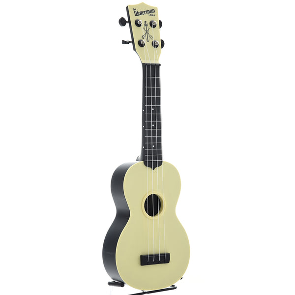 Kala Waterman KA-SWB Soprano Ukulele, Pale Yellow Matte with Carrying Bag