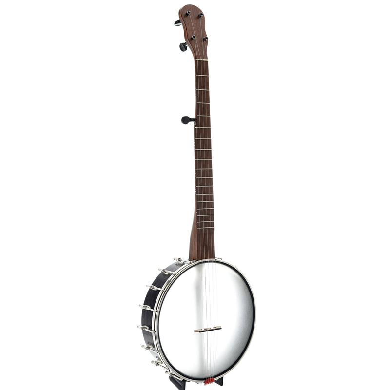 "Chuck Lee Rose Hill 11"" Openback Banjo, Integral Wood Tone Ring"