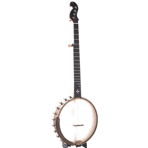 "Ome Minstrel 11"" Banjo & Case, Curly Maple Neck"