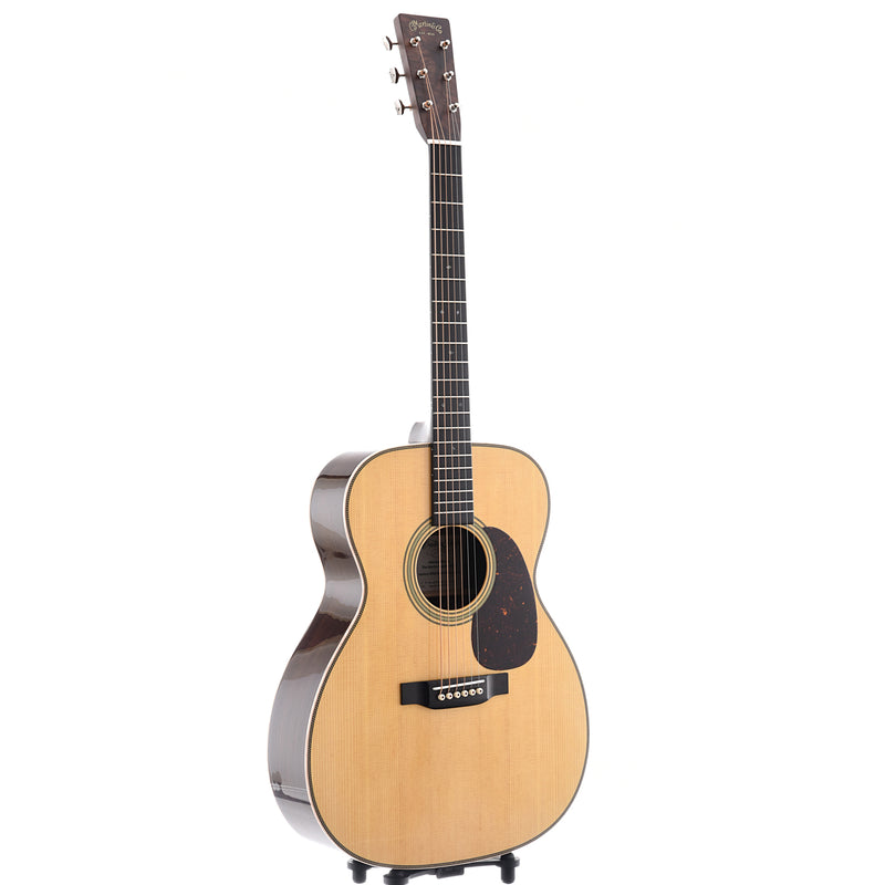 Martin Custom 28-Style M-Size (0000-Size) Guitar & Case, Wild Grain Indian Rosewood, SN2377698