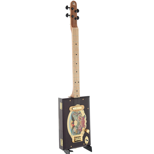 Get Down Guitars Ovation Cigar Box 4-String Electric Guitar