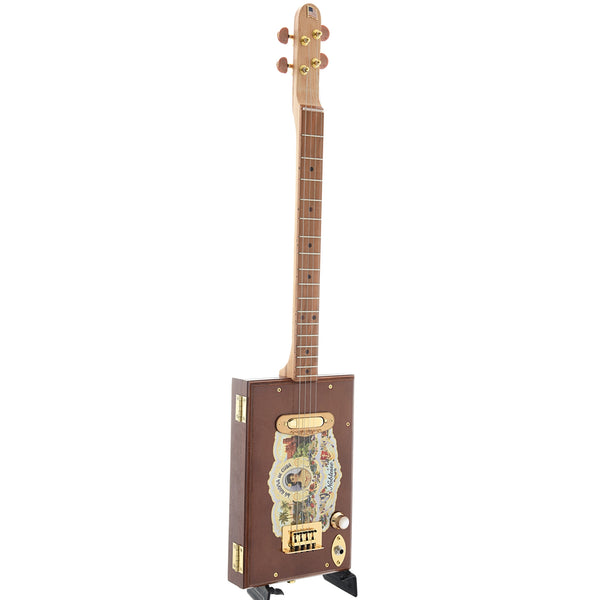 Get Down Guitars Noblesse Cigar Box 4-String Electric Guitar