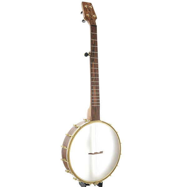 "Dogwood Banjo Co. 12"" Openback Banjo, Curly Maple"