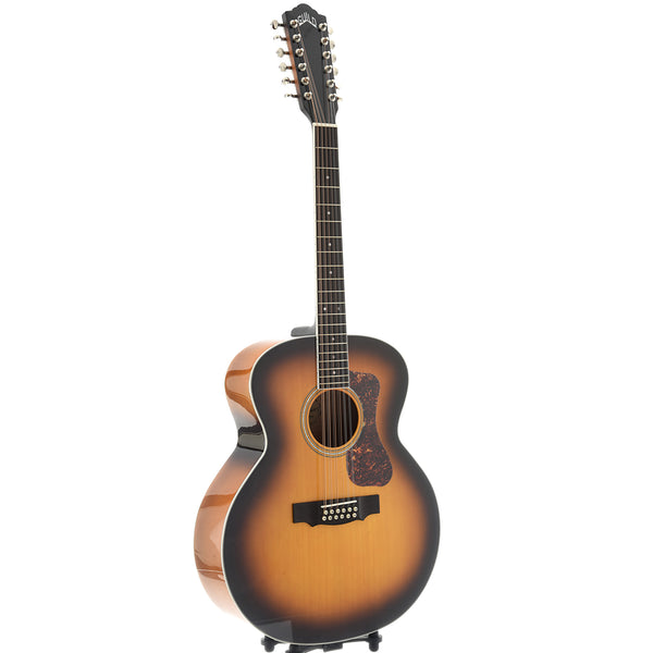 Guild Archback F-2512E Deluxe 12-String Guitar, Antique Sunburst Finish