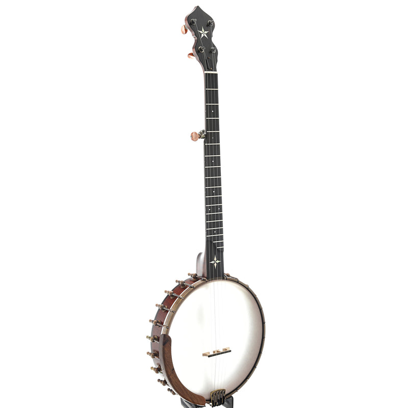 "Ome Wizard 11"" Openback Banjo & Case, Curly Maple"
