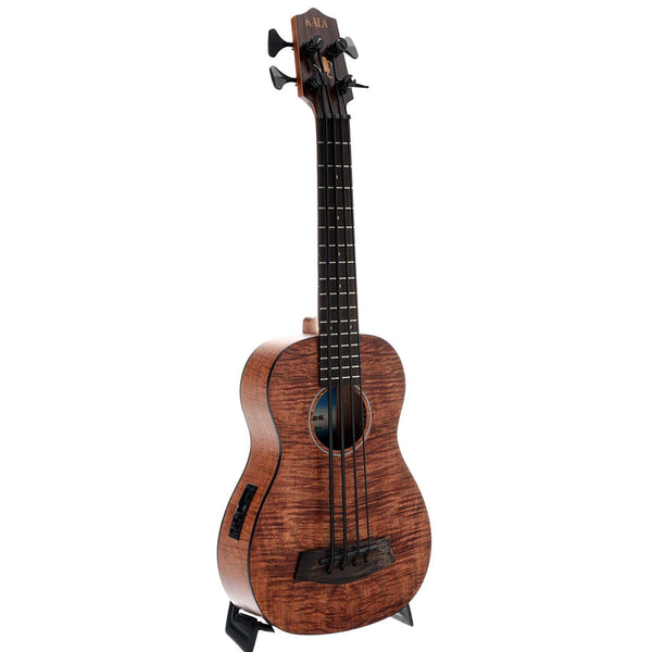 Kala Ubass Exotic Mahogany Fretted Mini-Bass & Gigbag